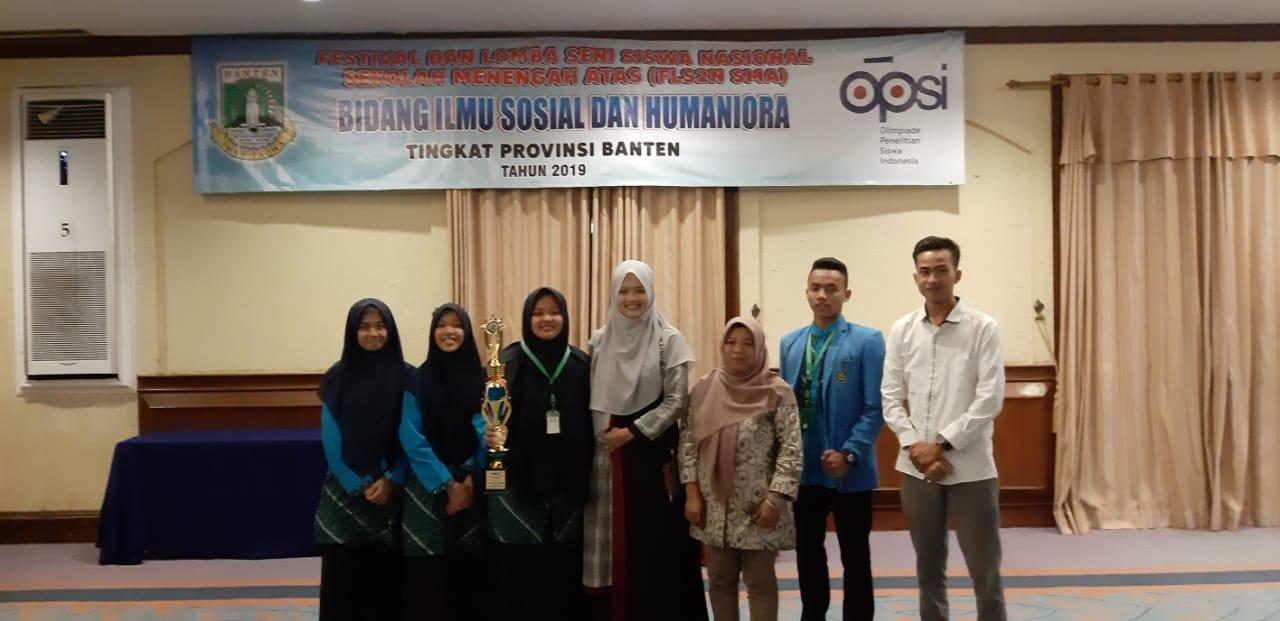 - OPSI 2019 5 - Santri Daar el-Qolam 2 Raih Prestasi di OPSI 2019 Provinsi Banten