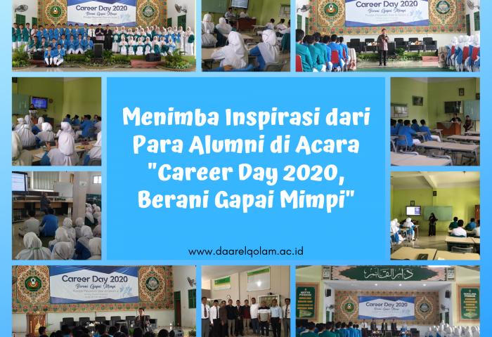 """- Banner Foto Career Day 2020 700x480 - Menimba Inspirasi dari Para Alumni di Acara """"Career Day 2020, Berani Gapai Mimpi"""""""