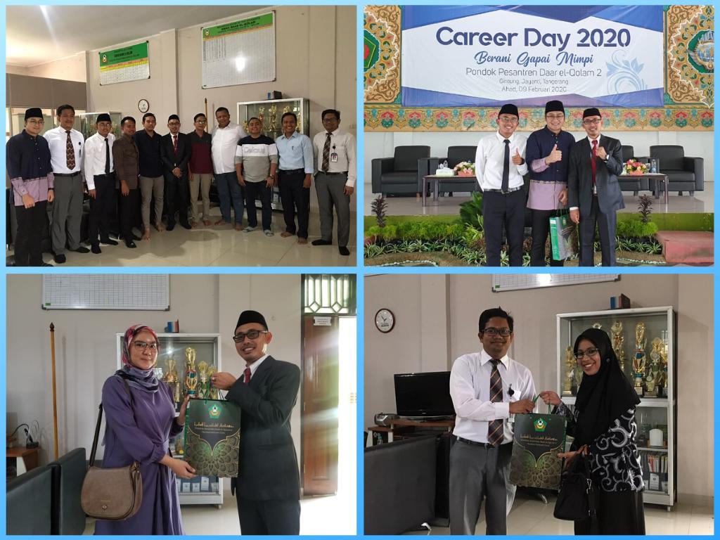 """- Kelas Karier 2 - Menimba Inspirasi dari Para Alumni di Acara """"Career Day 2020, Berani Gapai Mimpi"""""""